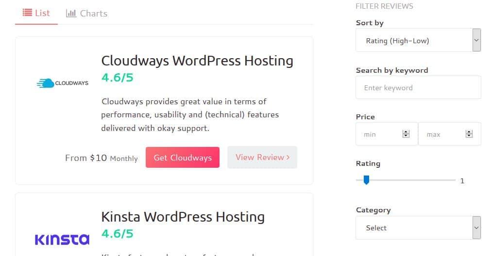 Waterfall WordPress Review Plugin 1