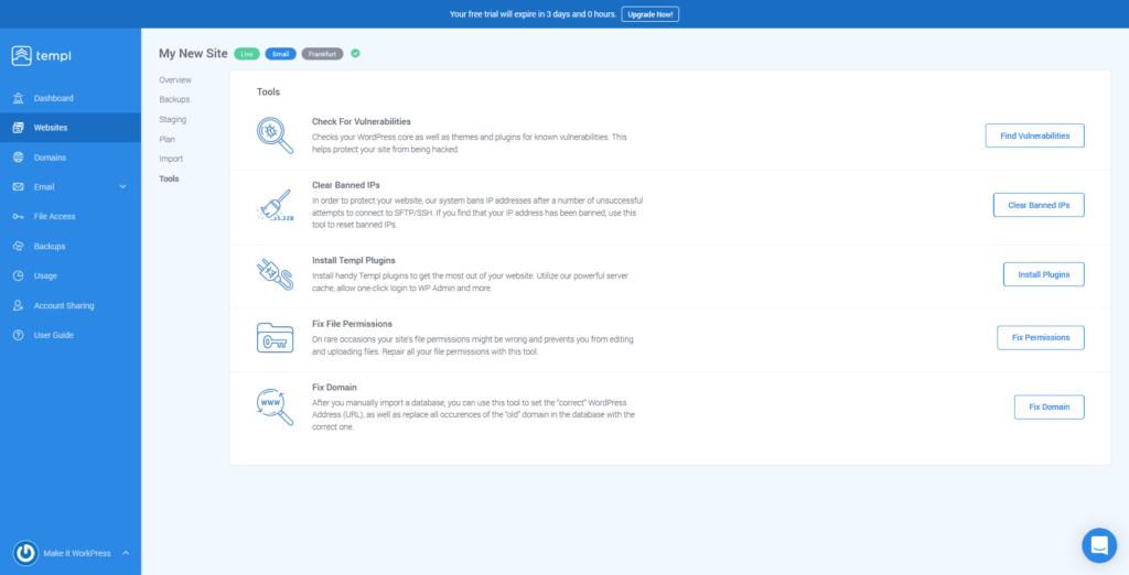 Templ WordPress Tool - Part of the Templ Review.